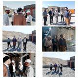 بازدید احمد محمدیان مدیر ملی منطقه ای بنیاد مستضعفان از بیمارستان شهرستان ملکشاهی