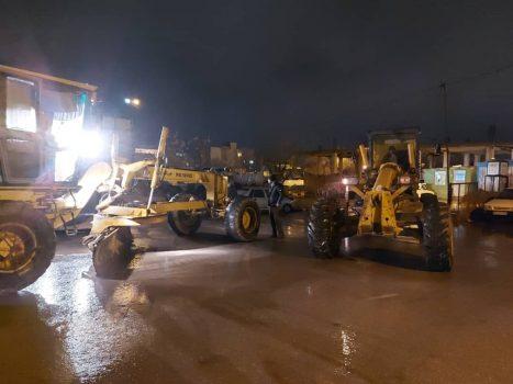 آماده باش کامل ماشین آلات و اکیپهای برف روبی شهرداری ایلام با توجه به احتمال تداوم بارشها در اواخر وقت امشب