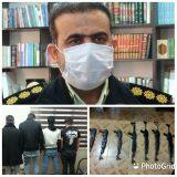 انهدام باند قاچاق ۴ نفره سلاح جنگی با کشف ۹ قبضه در دهلران