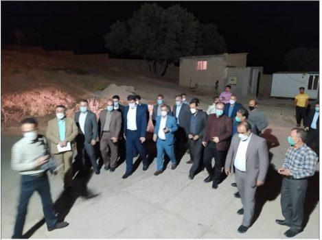 بازدید شبانه گشت مشترک تعزیرات حکومتی استان ایلام از کشتارگاه سپید مانشت شهرستان ایوان